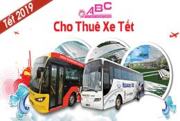 Cho thuê xe tết âm lịch 2019