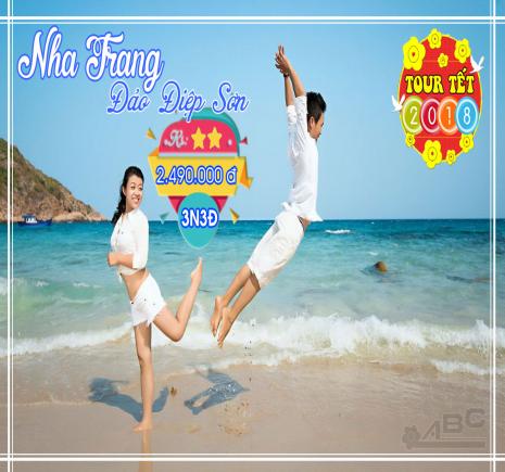 Tour Nha Trang - Đảo Điệp Sơn tết 2018