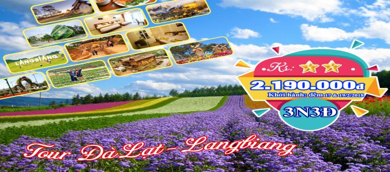 Tour du lịch Đà Lạt tết 2019