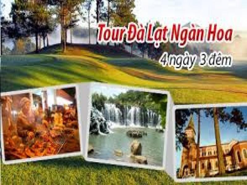Tour Du Lich Da Lat 4 Ngay 3 Dem He 2017