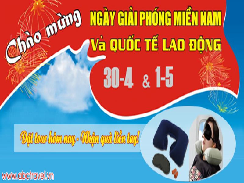 Lich khoi hanh tour du lich 30-4-2017