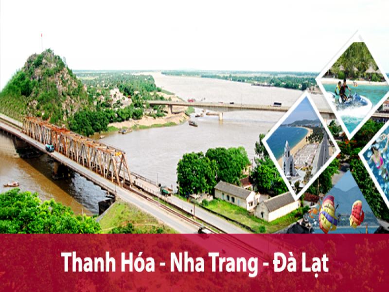 Tour du lich Thanh Hoa Nha Trang Da Lat gia re nhat 2017