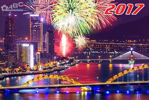 Lung linh Lễ hội pháo hoa Đà Nẵng 2017