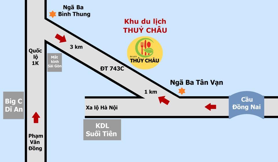 Bản đồ KDL sinh thái thủy châu