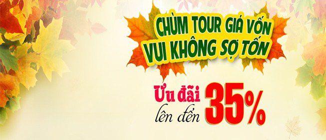 chùm tour du lịch 30-4