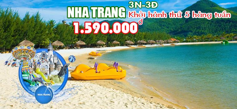 Tour du lịch Nha Trang 30-4 giá rẻ